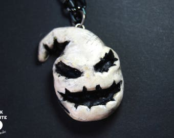 Oogie Boogie Pendant | The Nightmare Before Christmas | Geek jewellery | Handmade accessories | Halloween accessories
