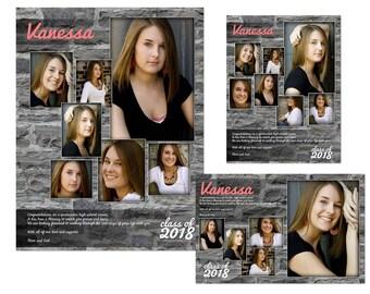 Yearbook Ads Templates - Vanessa