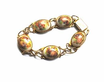 Vintage French  Limoges Bracelet