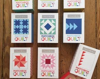 Matchbox Quilt Kits from Moda