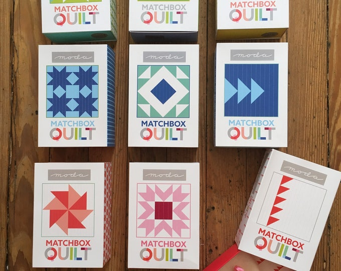 Matchbox Quilt Kits from Moda