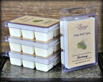 CHARDONNAY | Wax Melt Tart | Sassy Kandle Co.