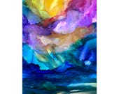 Alcohol Ink Art. Original...