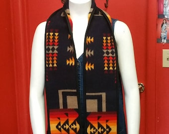 Southwest Wool Scarf