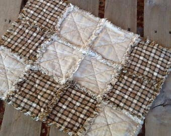 No. 53 Homespun Rag placemat