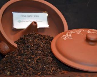 Pine Bark Fines substrate - 1 quart