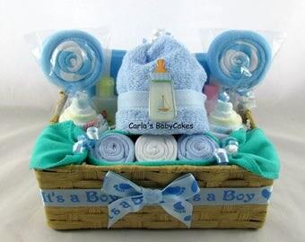 Diaper Cupcake Gift Set, Infant Washcloth Gift Set, Baby Shower Gift, New  Mom