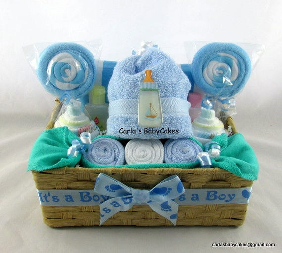 Baby Boy Gifts South Africa : Diaper cupcake gift set infant washcloth baby
