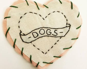 Dogs <3 Patch