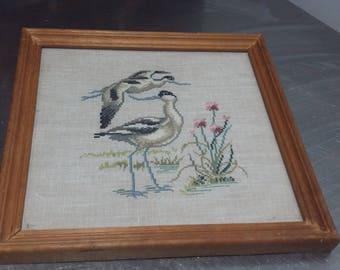 Vintage Tapestry of Birds