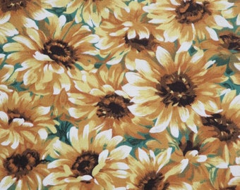 Little Sunflowers Floral Cotton Michael Miller Fabrics #6033 By the Yard