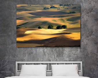 Fine Art Landscape Photography - Original Landscape Photos and Nature Photography Prints - Shadows Play in Palouse