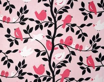Michael Miller It's A Girl Thing - Tweetie Pie Pink