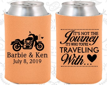 Its not the Journey, Its who your traveling with, Wedding Ideas, Motorcycle Wedding, Destination Wedding Favors, Destination Favors (456)