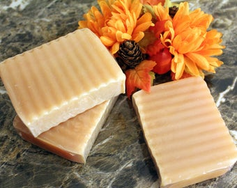 Lemongrass and Turmeric, all natural soap, double butter soap, shea butter, mango butter, palm free soap, detergent free,