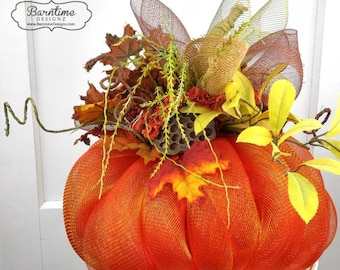 Pumpkin Decor, Fall Decor, Fall Pumpkin, Thanksgiving Decor, Halloween