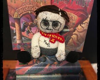 Harry Potter Handmade Crochet Voodoo Doll