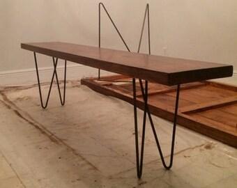 Narrow coffee table Etsy