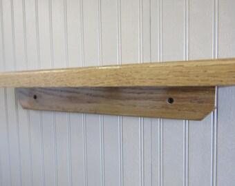 Oak wall shelf | Etsy