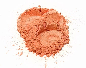 PEACH KISS Mineral Eye Shadow - Natural Makeup - Gluten Free Vegan Face Color