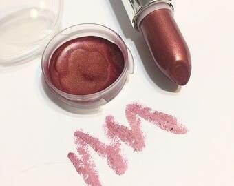 PLUMERIA Natural VANILLA Mineral Lipstick -  Gluten Free Shea Butter Lipstick