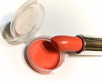 CORAL REEF Natural SATIN Mineral Lipstick - Gluten Free / Vegan Lipstick