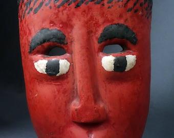 Handmade Guatemalan Antique Mask