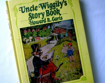 Uncle Wiggilys Story Book Hard Cover Childrens Bedtime 1939 Howard R Garis