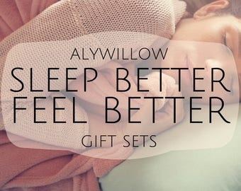 SLEEP BETTER Gift Set || anti-aging, medicinal, and therapeutic ||  pure plants || enhance sleep || lessen stress