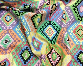 "Philip Jacobs ""Snow Leopard Designs"" Tribal Alexandria PWSL046 Dynasty Free Spirit Fabric"