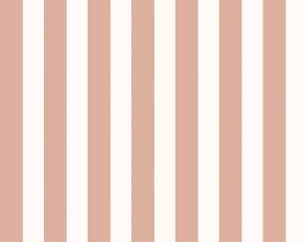 Yes Please - Stripes Cream by My Mind's Eye for Riley Blake, 1/2 yard, SC6554-Cream