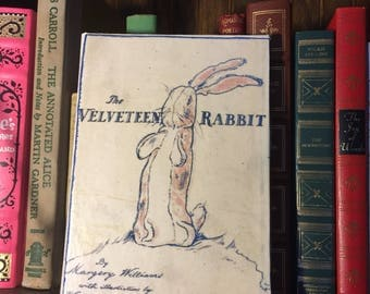 "Velveteen Rabbit Book cover for Kindle Fire, iPad Mini or other 6""-8"" tablets"