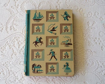 Vintage Book From 1940, Little Men by Louisa May Alcott