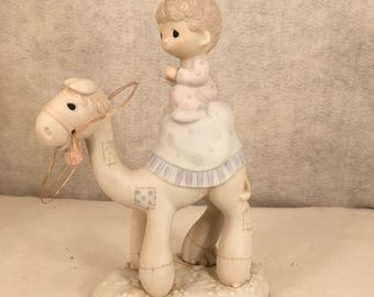 Vintage porcelain Precious Moments Ornament