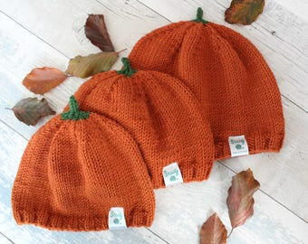 Adult Thanksgiving Hat, Pumpkin Hat Adults, Thanksgiving Hat Adult, Knitted Pumpkin Hat, Thanksgiving Pumpkin Outfit for Adults