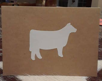 Show Heifer Notecards