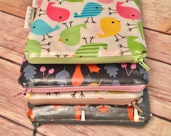 Reusable Sandwich Bags - Reusable Snack Bags - Food Storage Bags - Velcro Reusable Bag - Zipper Reusable Bag