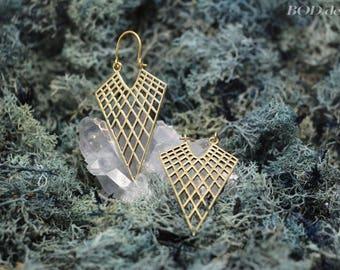 Beautiful geometric earrings