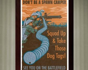 Battlefield One - Propaganda Poster - 11x17