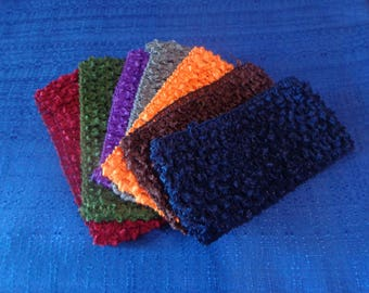 7 Wide Fall Chrochet Headbands For Ladies Girls or Baby,Autum Headbands