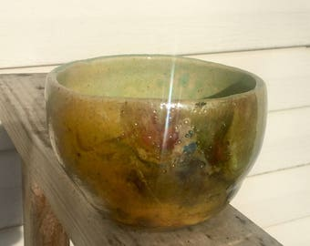 Small Raku bowl