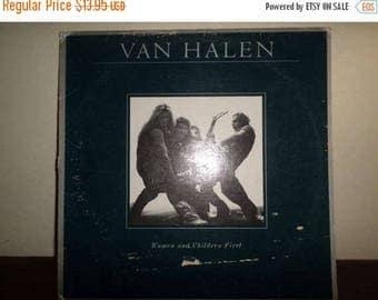 Save 30% Today Vintage 1980 Vinyl LP Record Van Halen Women and Children First Very Good Condition 9166