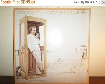 Save 30% Today Vintage 1981 Vinyl LP Record Jimmy Buffett Coconut Telegraph Near Mint Condition 11601