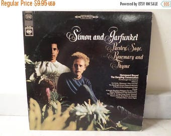 Save 30% Today Vintage 1966 LP Record Simon and Garfunkel Parsley Sage Rosemary and Thyme  Very Good Condition 14833