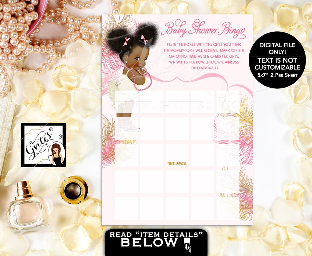 Excellent Step and Repeat Baby Shower, pink ivory and gold, african american  DP13