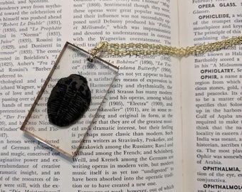 Real Trilobite Resin Necklace