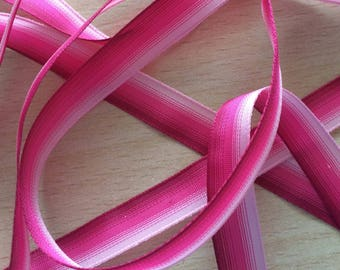 pretty Ribbon gradient pink shades