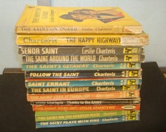 Set of 13 Saint paperback, Mixed Publishers