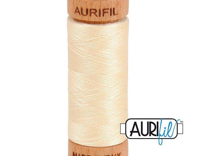 Aurifil 80wt -  Butter 2123