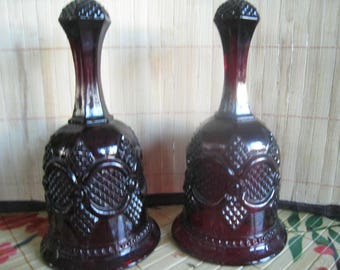 2 Avon ruby red bells